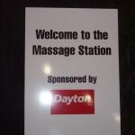 Dayton Chair Massage Sign