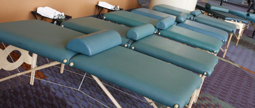 Conference Massage Table Massages
