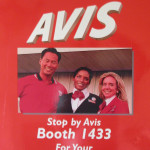 Avis Chair Massage sign