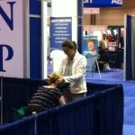 nurses chair massage booth