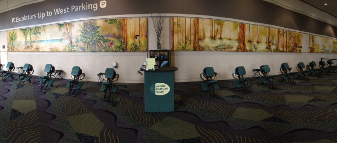 Trade Show Massage Station