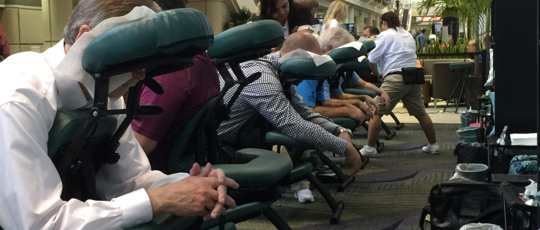 Trade Show Seated Massages