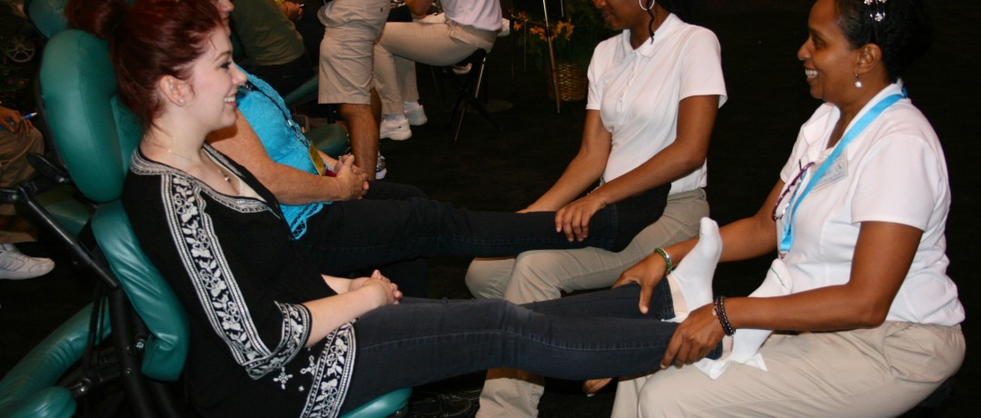 Trade Show Foot Massages