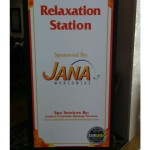 Jana Chair Massage sponsorship sign