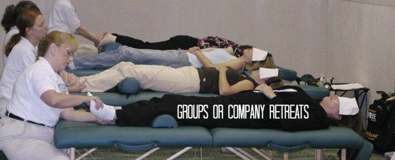 massages for Retreats